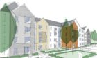 Artists impressions of the flats at Auchmill Road, which have been approved by planners.