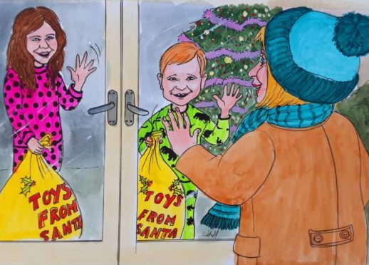 Moreen Simpson: Christmas wis right oot the window for wee yins