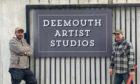 Peter Baxter, left, and Allan Watson of Deemouth Artist Studios