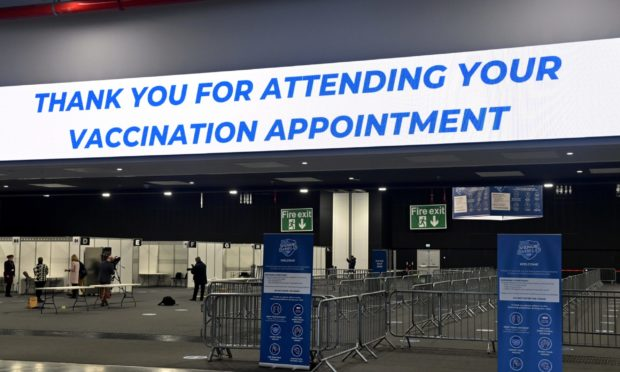 NHS Grampian's vaccine progress has been praised.