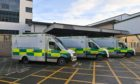 Aberdeen Royal Infirmary's accident and emergency department.