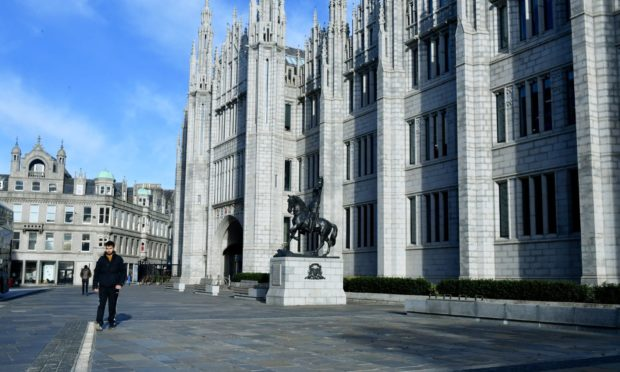 Aberdeen City Council's administration has proposed freezing council tax.