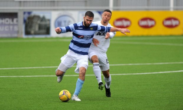 Banks o' Dee will be allowed to continue with their Scottish Cup bid.  Picture by Darrell Benns