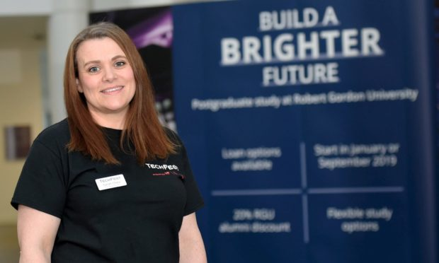 Managing director of TechFest, Sarah Chew.
