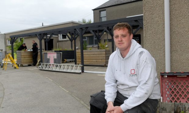 Owner of the Square pub and Hotel, Steve MacDonald has offered the premises for use as a vaccination hub