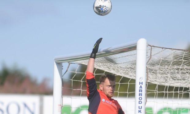 Turriff United captain Fraser Hobday
