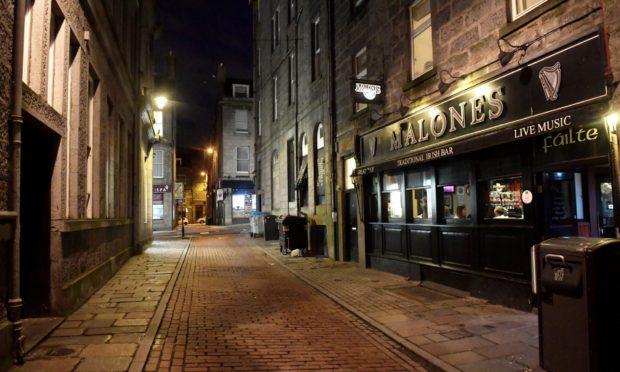 Malones bar on Shiprow.