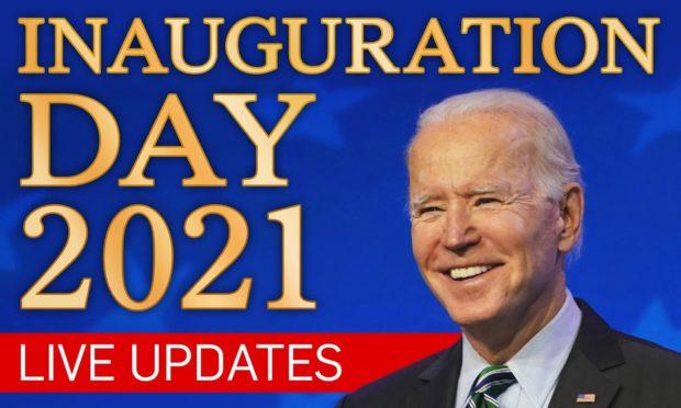 Joe Biden and Kamala Harris are in Washington DC for the inauguration ceremony at the US Capitol