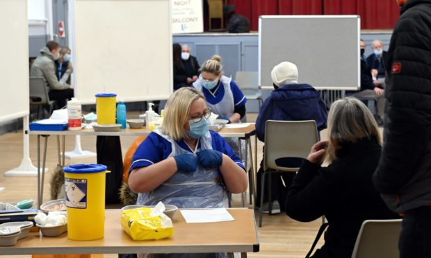The Covid-19 vaccination programme has begun to get underway across NHS Grampian.