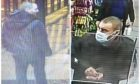 Two cctv images have been released by officers following an assault near Union Square.
