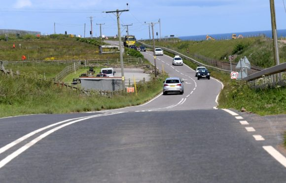 The Coast Road would be widened and a new bridge built if the option is approved.
