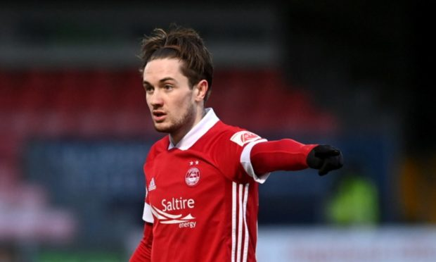 Aberdeen's Scott Wright who has signed a pre-contract with Rangers.