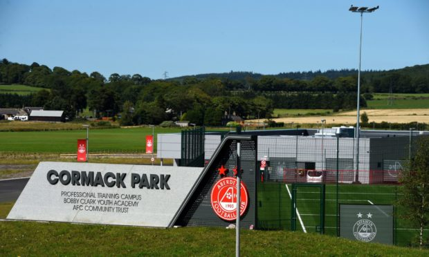 Cormack Park. Picture by Kenny Elrick
