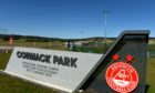 Cormack Park training base