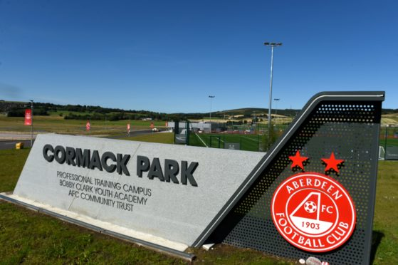 Cormack Park training base