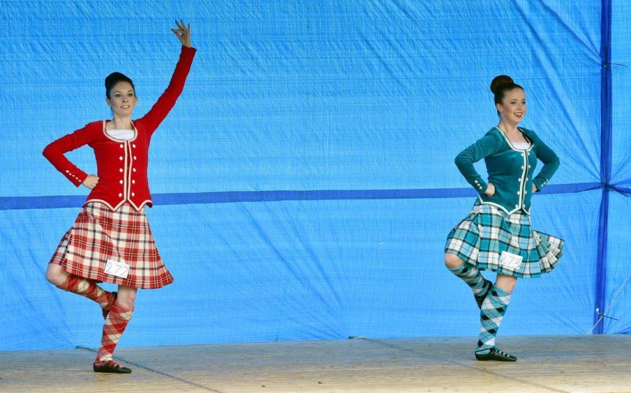 Cornhill Highland Games.