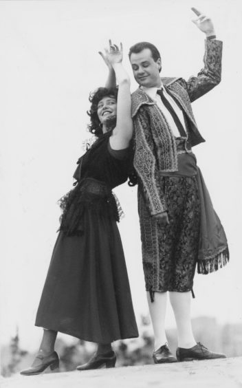 1992: Spanish Smiles: Kerry Donald and John Fitzsimmons star in Carmen the Musical, presented by city theatre group Pro Arte, which begins a five-night run tomorrow in the Arts Centre, King Street, Aberdeen at 7.45pm.