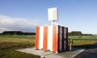 The radar has been installed at RAF Lossiemouth.