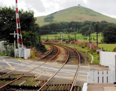The level crossing at Insch