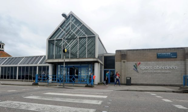 The existing leisure centre at Aberdeen Beach