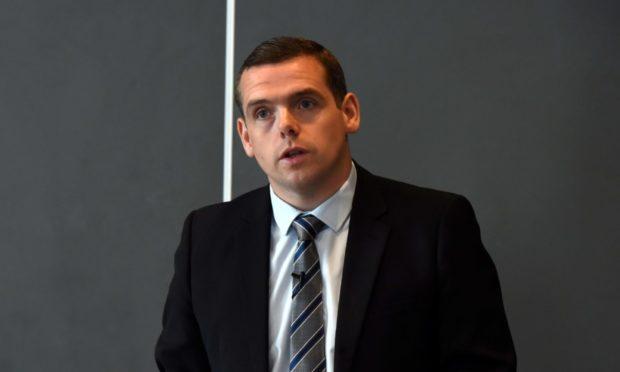 Scottish Tory leader Douglas Ross.