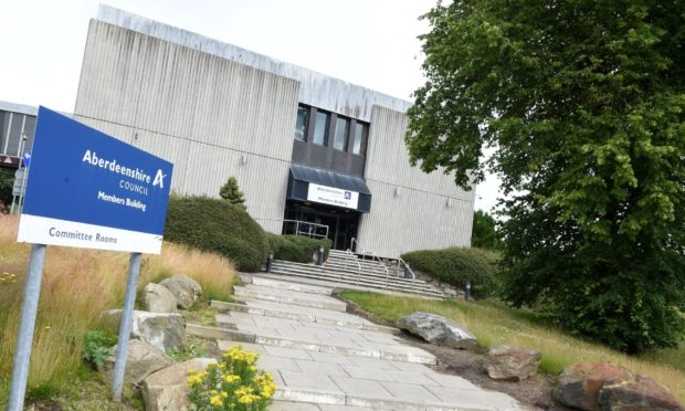 Aberdeenshire Council's headquarters