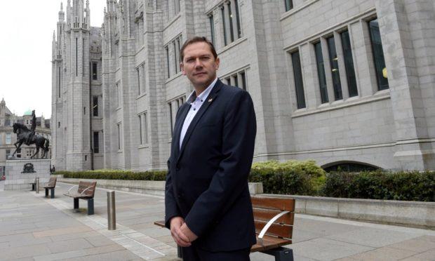 Aberdeen City Council co-leader Douglas Lumsden