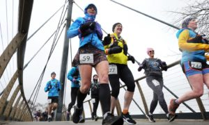 The popular Dee 33 mile ultra race takes place on the Deeside Way.