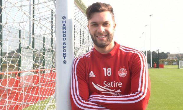 Aberdeen winger Connor McLennan.