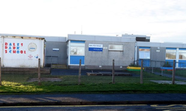 Dales Park School in Peterhead, one of the schools proposed to be relocated to the Peterhead Community Campus.