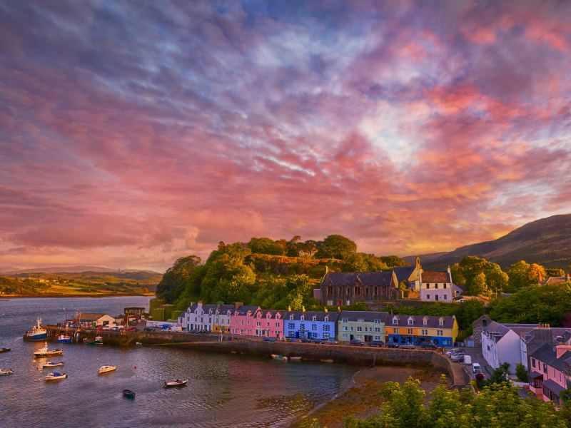 Portee, the Isle of Skye.