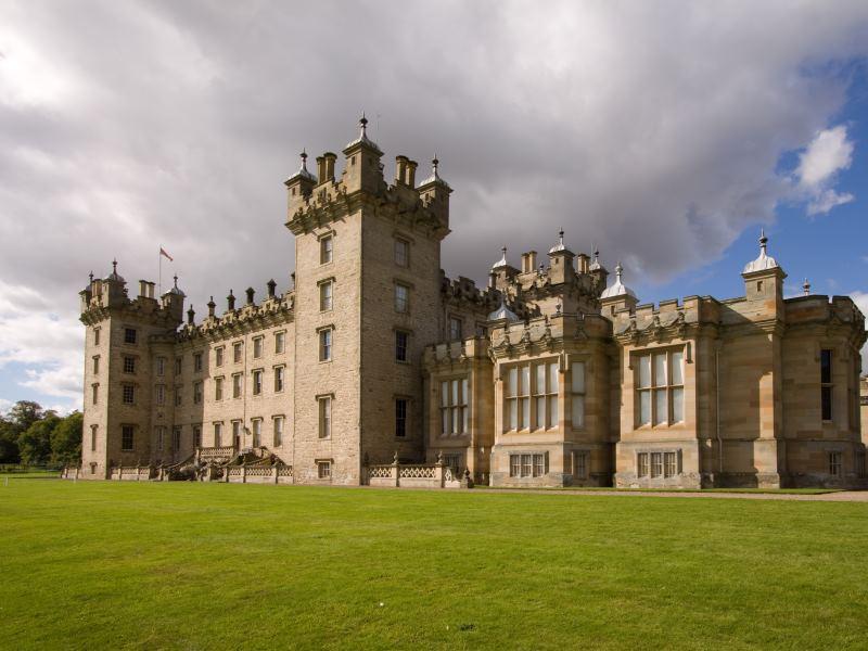 Floors Castle near Kelso in the Scottish Borders.