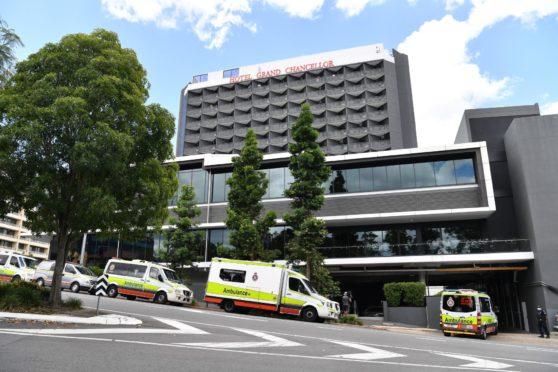 One of the so-called quarantine hotels in Australia