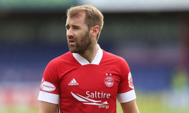 Aberdeen attacker Niall McGinn.