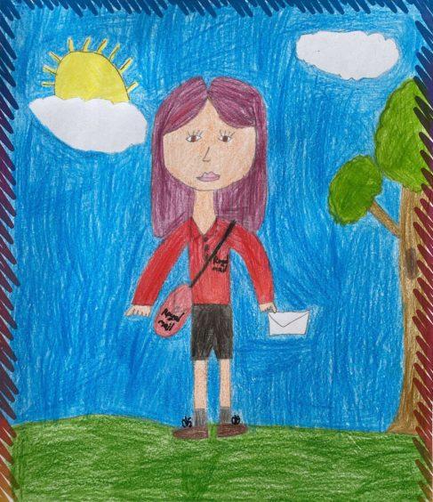 Emily Iraknyte, 7, Stuartfield.