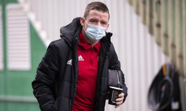 Aberdeen's Jonny Hayes.