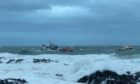 Peterhead Lifeboat came to the aid of the stricken vessel with five on board