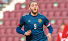 Fraser Hornby who has joined Aberdeen on loan