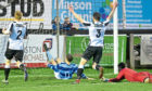 Banks o' Dee met Fraserburgh in the Scottish Cup.  Picture by Chris Sumner