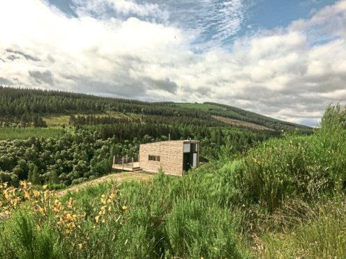 Drummuir Cabin built by Bothanna Cabins