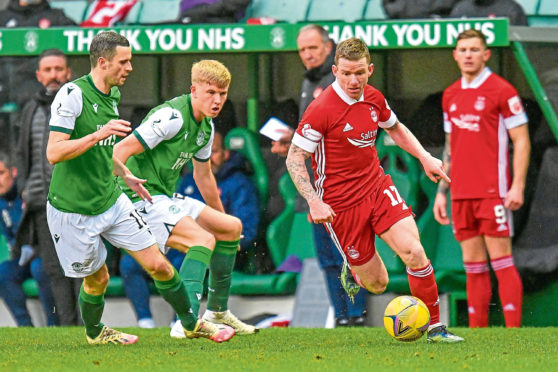 Aberdeen are in a third-place battle with Hibs.