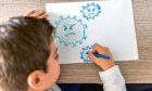 How to look after your child's mental health in lockdown Generic photo of a boy drawing. See PA Feature TOPICAL Family Lockdown Wellbeing. Picture credit should read: PA Photo/iStock. WARNING: This picture must only be used to accompany PA Feature TOPICAL Family Lockdown Wellbeing.
