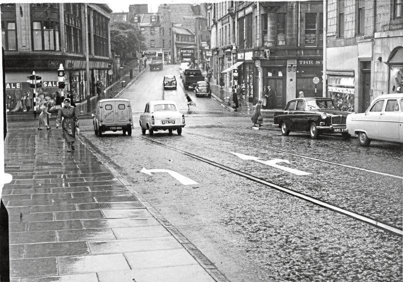 1960: Schoolhill, Aberdeen.