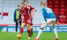 Aberdeen's Niall McGinn during the Scottish Premiership match against Kilmarnock.