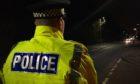 The man was seen on Diamond Bridge in Bridge of Don last night.