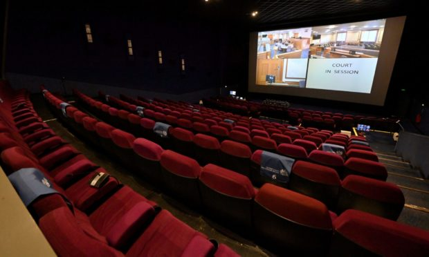 The new remote jury centre at the Vue.