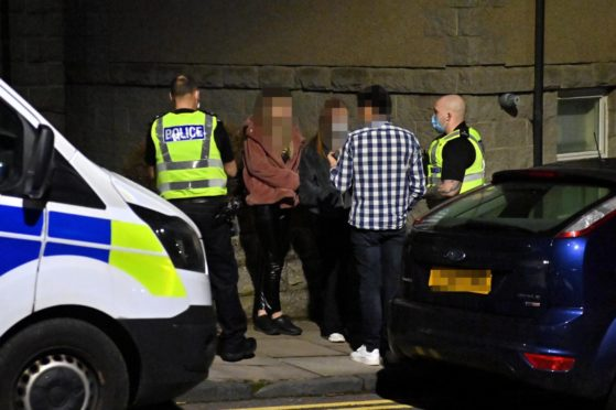Dozens fined in Aberdeen as police crack down on Covid house parties