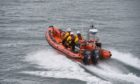 Stonehaven's lifeboat crew joined up with their counterparts from Aberdeen for the search near Portlethen.