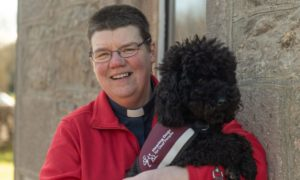 Rev Mary Whittaker, the first deaf Church of Scotland minister.