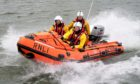 Aberdeen's two lifeboats were deployed to repond to the sighting